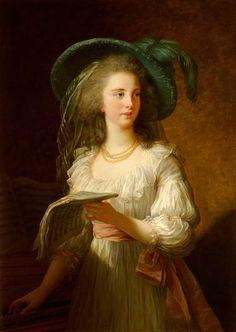 the duchesse de polignac, Louise Elisabeth Vigee Le Brun