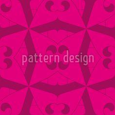 Falter Floral Designmuster by Matthias Hennig at patterndesigns.com