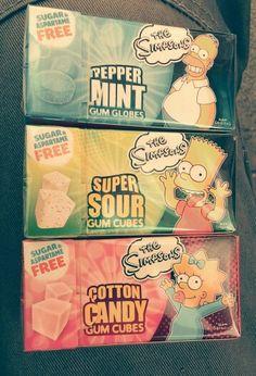 gum cartoon