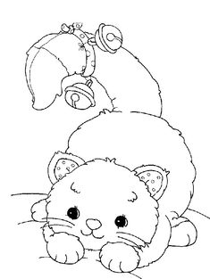 top 20 free printable cat coloring pages for kids - Free Printable Toddler Coloring Pages