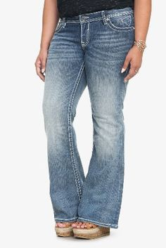 fashion bug boyfriend ripped plus size harley jean | fashion bug