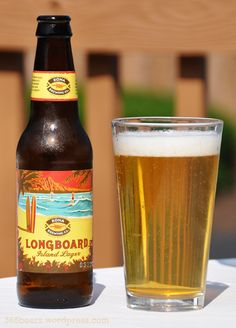 Kona Longboard Island Lager... (must get this or any Kona beer for AJ's party)