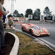 Richard Attwood - Hans Herrmann, Porsche 917K (Le Mans, 1970)