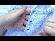 COMO TEJER LOS BORDES PARA QUE QUEDEN PERFECTOS Y RECTOS A CADA LADO - YouTube Crochet Baby Hat Patterns, Crochet Baby Hats, Crochet Dolls, Knitting Patterns Free, Free Knitting, Baby Knitting, Stitch Patterns, Free Pattern, Knit Crochet