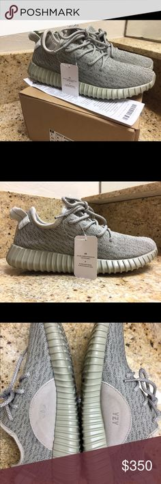 Adidas Yeezy Boost 350 Moonrock Size 9 Deadstock.Yeezy 350.  Comes in original box with tags  receipt. -Next day shipping. -What you see is what you get. -True to size. Unisex. Yeezy Shoes Athletic Shoes