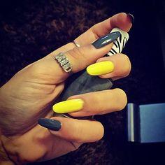 http://decoraciondeunas.com.mx/post/103112530622/nails-yellow-neon-moda-fashion-nails | #moda, #fashion, #nails, #like, #uñas, #trend, #style, #nice, #chic, #girls, #nailart, #inspiration, #art, #pretty, #cute, uñas decoradas, estilos de uñas, uñas de gel, uñas postizas, #gelish, #barniz, esmalte para uñas, modelos de uñas, uñas decoradas, decoracion de uñas, uñas pintadas, barniz para uñas, manicure, #glitter, gel nails, fashion nails, beautiful nails, #stylish, nail styles