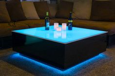 Cube Led Coffee Table