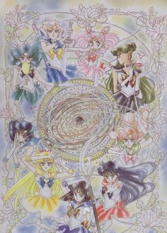 From Pretty Soldier Sailor Moon Artbook Volume III