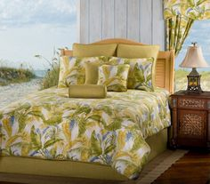 Victor Mill Comforter and Duvet Sets - Victor Mill Bedding - Nags Head Tropical Bedding by Victor Mill Beach Bedroom Decor, Bedroom Themes, Bedroom Ideas, Beach Bedding Sets, Comforter Sets, Daybed Comforter, Tropical Bedding, Daybed Sets, Bed Sets For Sale