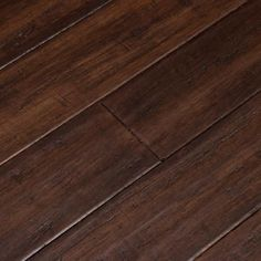 Cali Bamboo Fossilized Bordeaux Bamboo Engineered Hardwood Flooring ft) at Lowe's. A dark mahogany hue flavors this hand scraped bamboo flooring with warm opulence. Perfect for classic and lavish interior designs, planks enhance décor