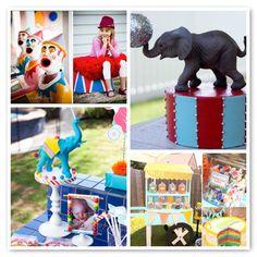 carnival theme... Maybe not so many clowns... Or elephants...
