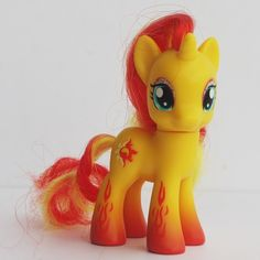 """Hasbro My Little Pony G4 Sunset Shimmer in Flame Pony Figure 3 2"""" Only One 