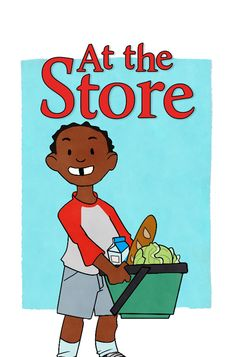 "At the Store Caleb and Dad go to the store. They have a special recipe in mind. Find out what they make in today's new story ""At the Store!"""