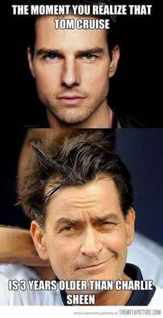 He doesn't seem to age…