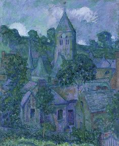 Theodore Earl Butler - Giverny At Night, 1909
