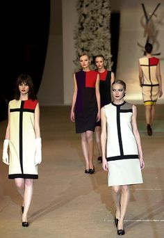 "vintage 60s yves saint laurent mondrian dress.this is ""in"