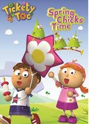 Anchor Bay Entertainment ~ Tickety Toc - Spring Chicks Time DVD Giveaway!