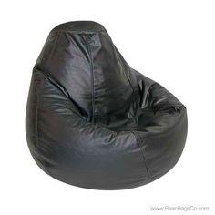 Adult Lifestyle PVC Vinyl Pure Bead Bean Bag Chair