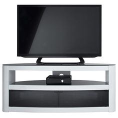 Costco UK - Burghley 1250 TV Stand in White