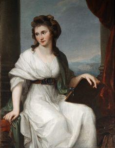https://flic.kr/p/rR8JTu | Kauffmann, Angelica . Portrait of the Artist_ | COBBE COLLECTION