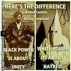What is different between Black Power and white power?