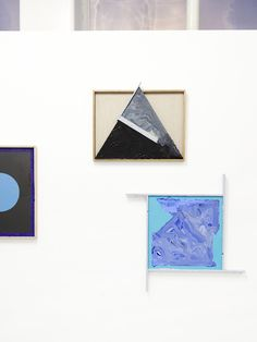 Daine Singer Gallery. Artworks by Sean Bailey.  Photo – Eve Wilson for The Design Files.