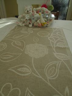 BN Piece Of Very High Quality Voyage Decoration Fabric In Myrtle Fawn rrp £42