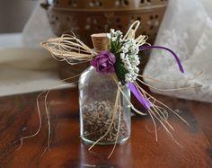 Düğün temanıza uygun şişe nikah şekeri modelleri.