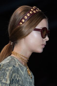 PFW: Valentino Spring 2014 Hair and Makeup