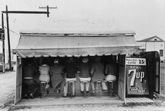 Inch Print - High quality prints (other products available) - TEXAS: LUNCHEONETTE, <br> An outdoor hamburger stand at Harlingen, Texas. Photograph by Russell Lee, February - Image supplied by Granger Art on Demand - Photograph printed in the USA Vintage Pictures, Old Pictures, Old Photos, Texas History, Historical Pictures, American History, Find Art, Canvas Prints, Harlingen Texas