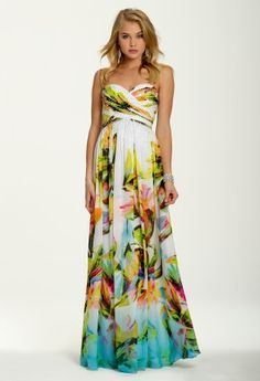Tropical Evening Gowns