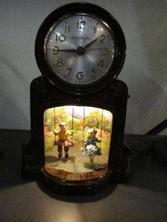 Playmates clock swinging Mastercraft