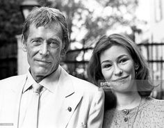 My God she looks like her father!!! Peter O'Toole & daughter Kate during Ed Koch Hosts 'Salute to Theater Week' at Gracie Mansion in New York City, NY, United States.