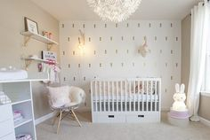 # Realization: poetic golden and powder pink baby room Marion DECO