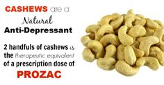 Cashew Nutrition: Absolute the Best Treatment for Depression without Medication