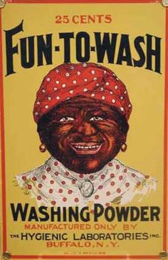 The stereotype of the mammy role for African American women has followed them for years now. The features of the characters on the advertisements of detergent, pancake mix or hair products are very exaggerated and flamboyant.  http://www.prwatch.org/news/2005/09/4005/jim-crow-propaganda