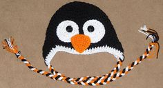 PENGUIN HAT you choose size by madicyn09lee on Etsy, $16.00