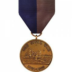 The Civil War Campaign Medal - Marine Corps was retroactively awarded to all members of the United States Military who served during the American Civil War. It was first authorized in 1905 for the fortieth anniversary of the war's conclusion. Originally intended as a commemorative award, it was soon adopted as a military decoration due to to its popularity in the senior military ranks, many of whom were Civil War Veterans.