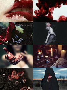 "Witch Aesthetics // Blood Witch ""Requested "" Chaos Witch 