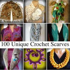 unique crochet scarves http://www.crochetconcupiscence.com/2014/07/best-2014-crochet-accessories-patterns/
