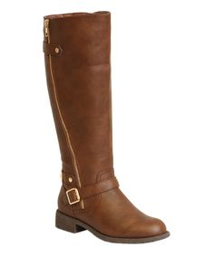 This Ball Band Brown Side-Zip Monica Boot by Ball Band is perfect! #zulilyfinds