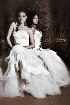 Bridal Couture with Jacquin Botha. Pretoria, South Africa.  Makeup & Hair by jenny @ Dagena.