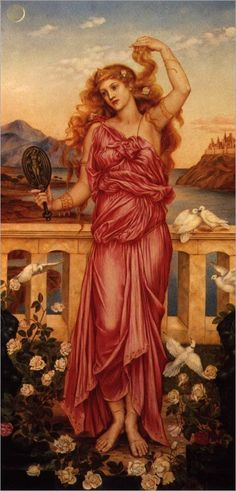 """Helen of Troy"". (by Evelyn de Morgan)."