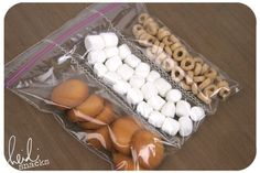 Sew on your ziplock bags to make compartments.