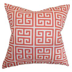 I pinned this Towers Pillow in Coral from the Look: Spirited event at Joss and Main!