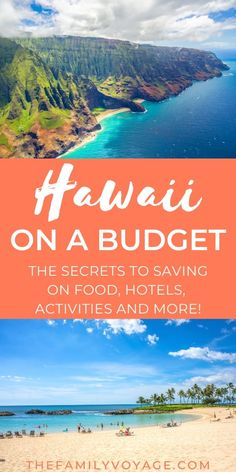 Trying to visit Hawaii on a budget? We'll show you all the tricks to save on accommodations, food, rental cars and things to do in Hawaii. Hawaii Vacation, Hawaii Trips, Beach Trip, Hawaii Hawaii, Beach Travel, Hawaii Travel Guide, Travel Tips, Budget Travel, Europe Budget