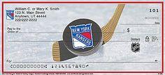 New York Rangers(R) NHL(R) Personal Checks