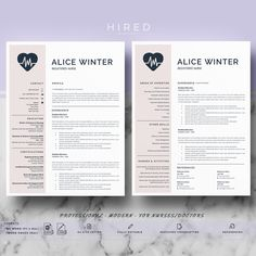 Nurse Resume Template Doctor Resume Template for MS Word Cover Letter Format, Cover Letter For Resume, Cover Letter Template, Letter Templates, Cover Letters, Nursing Resume Template, Resume Template Free, Nursing Resume Examples, Templates Free