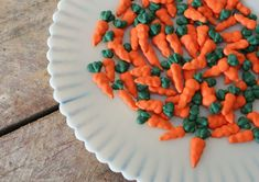 Royal Icing Accents Carrot