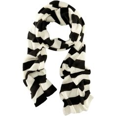 H&M Scarf (14 AUD) ❤ liked on Polyvore featuring accessories, scarves, h&m, stripes, striped scarves and h&m scarves